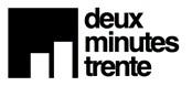 Logo Deux Minutes Trente